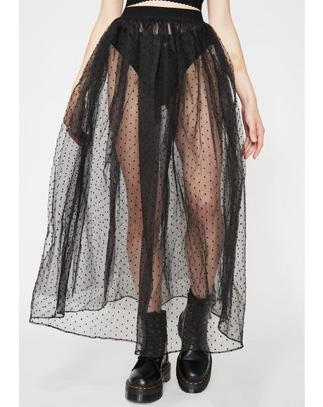 Wicked Princess Morbucks Maxi Skirt