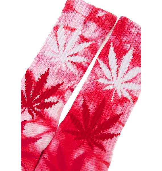 HUF Plantlife Strains Crew Sock