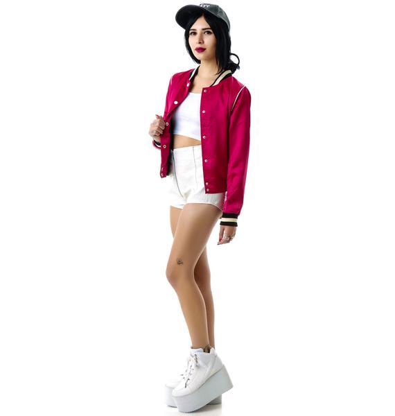 Pink Ladies Varsity Jacket