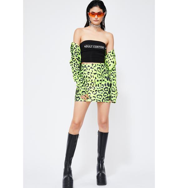 Neon Noize Mini Skirt