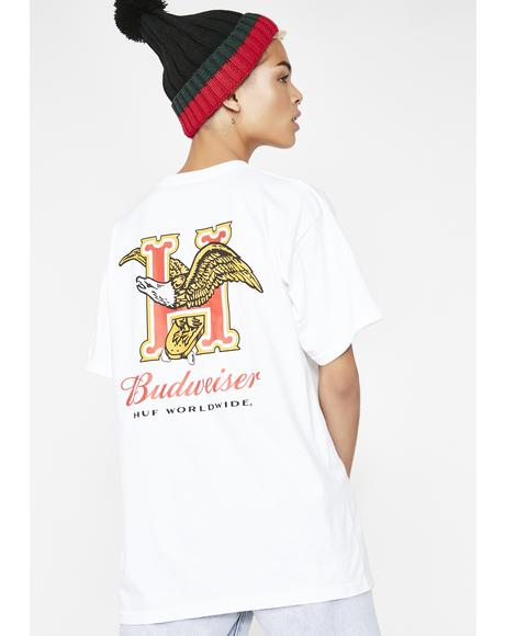 x Budweiser Eagle Short Sleeve Tee