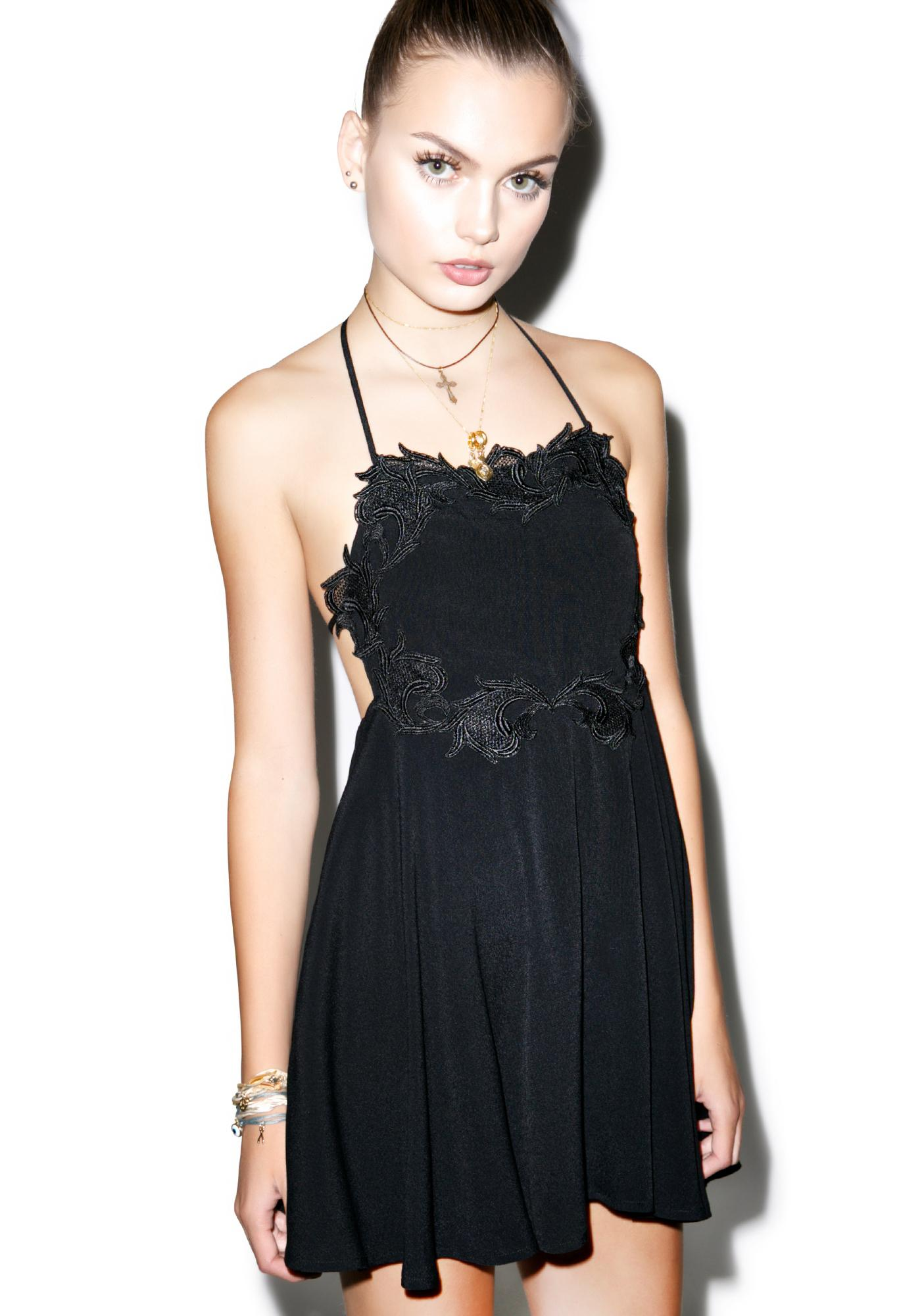 For Love & Lemons Sahara Mini Dress