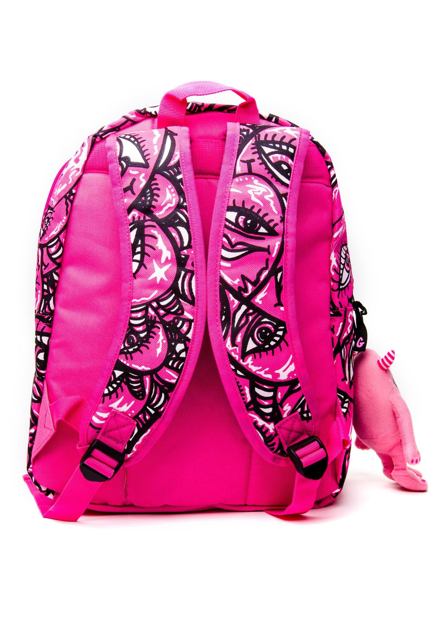 Grawzulz Pink Babe Backpack