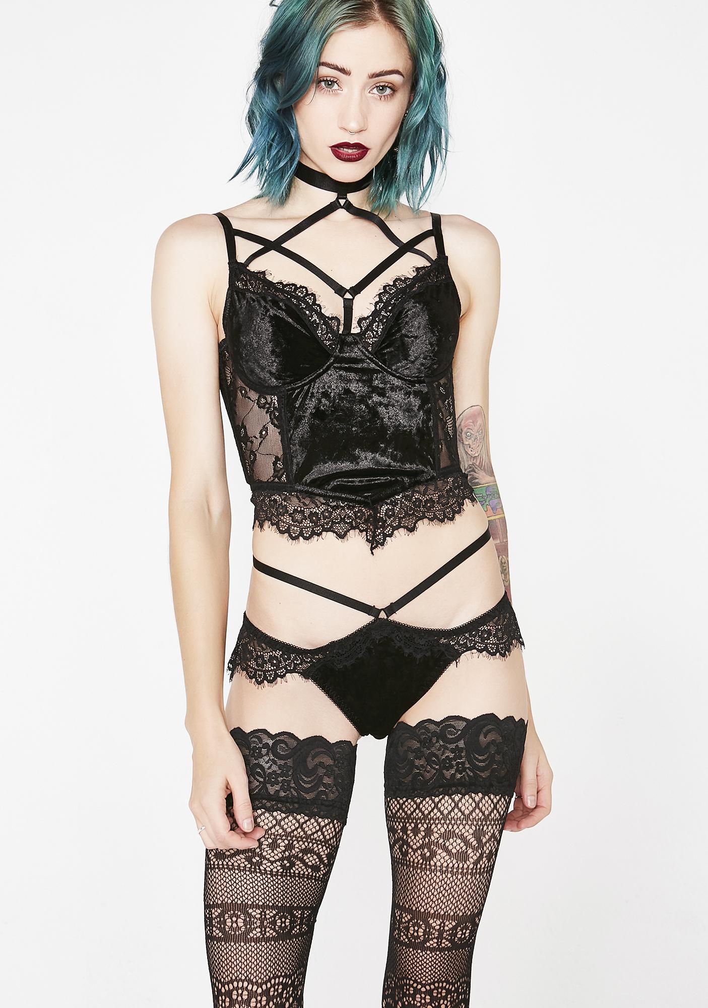Killstar Evangelina Lace Panty