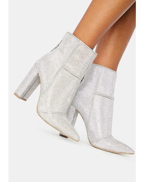 Tristan Rhinestone Boots