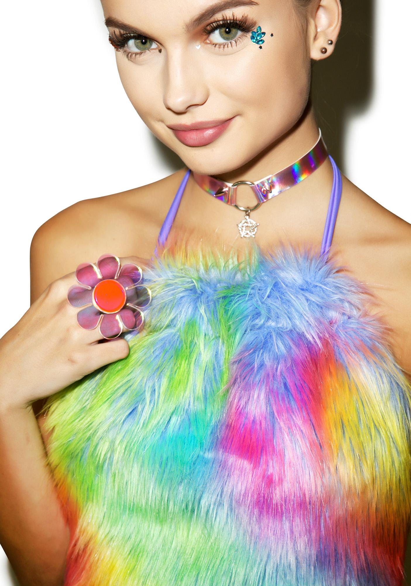 Techno Furry Halter