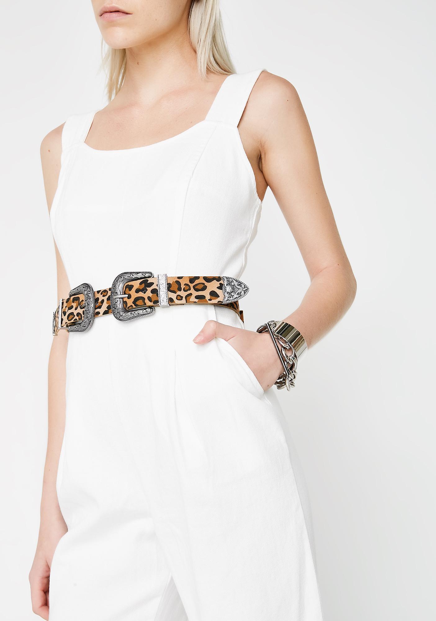 Double Dare Ya Leopard Belt