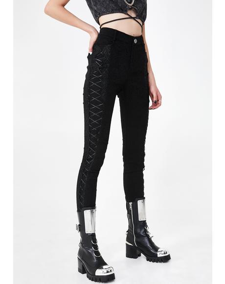 Noir Lorette Trousers