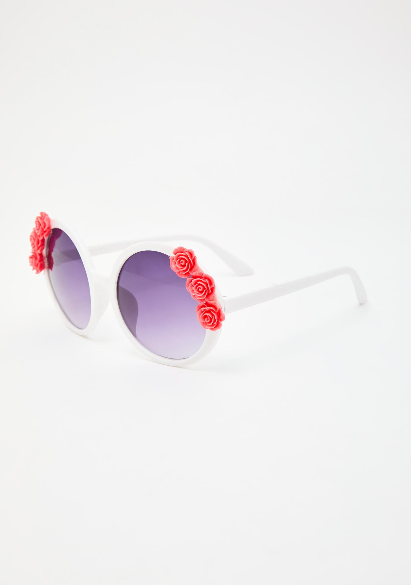 Love In Sight Round Sunglasses