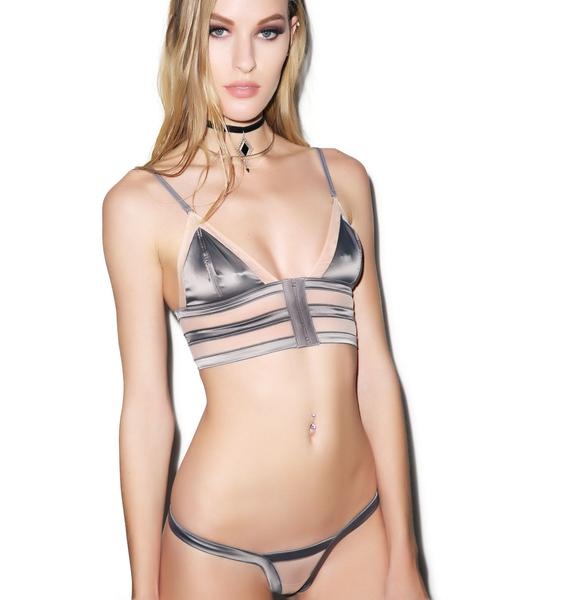 Love Haus Stripe Illusion Panty
