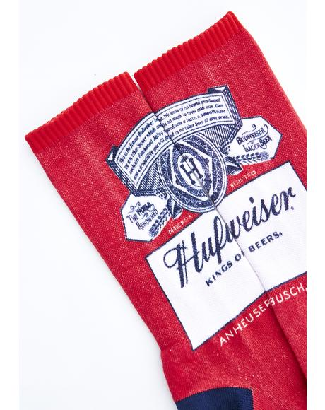 This Buds For You Crew Socks