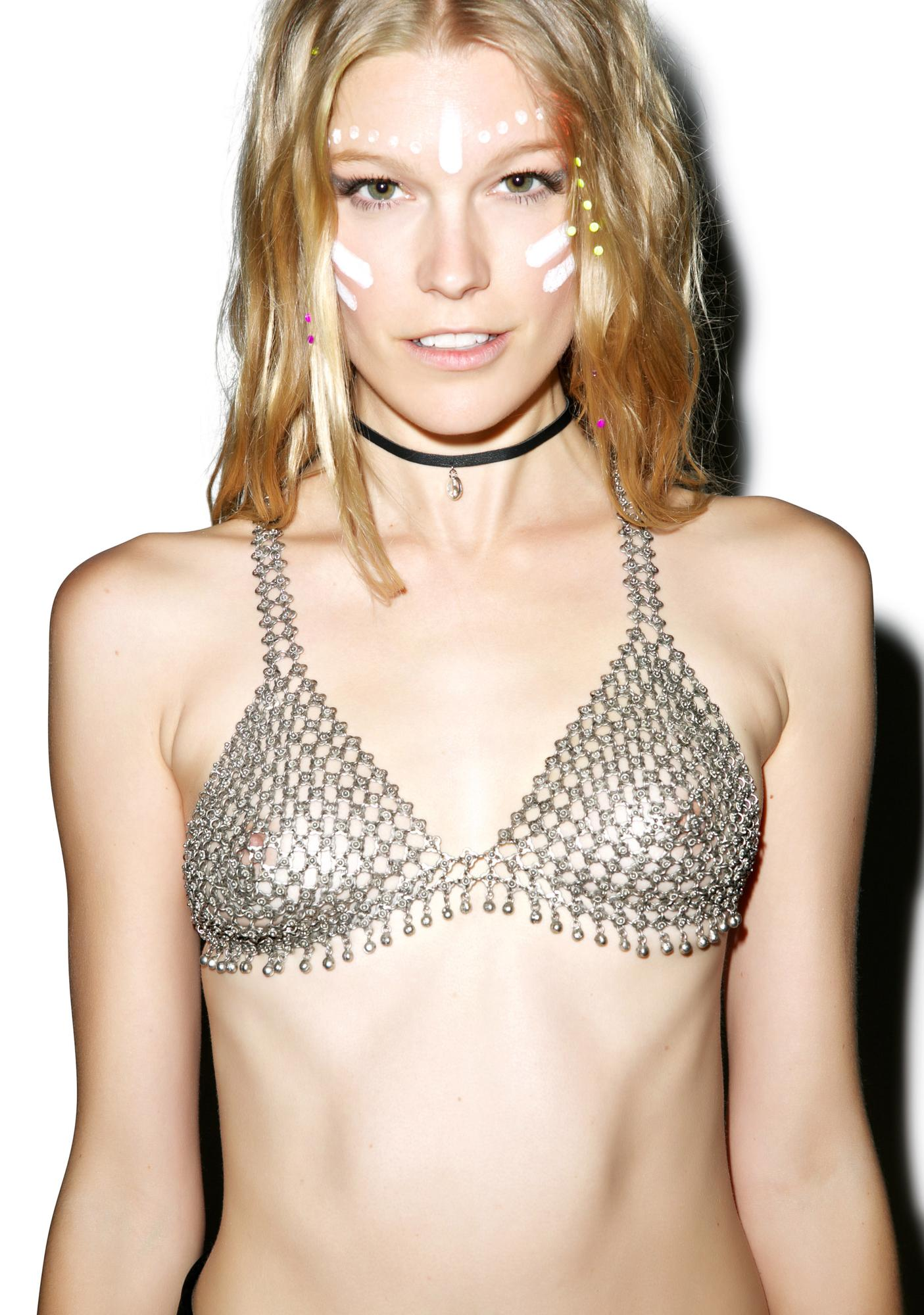 Christie Nicole Opulence Chain Bra