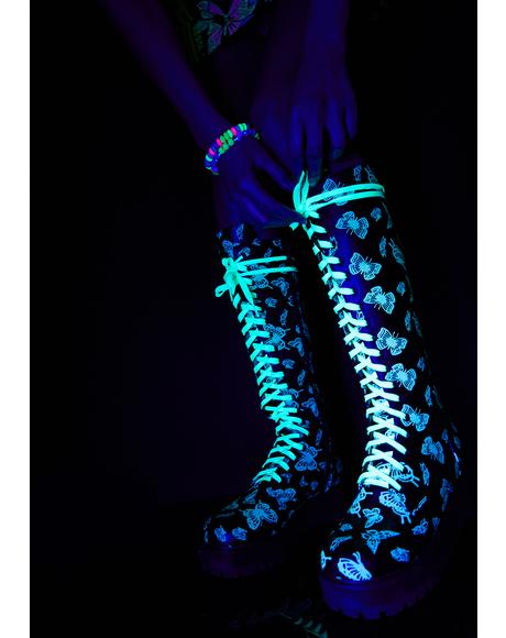 Lucky Wanderer Glow In The Dark Boots