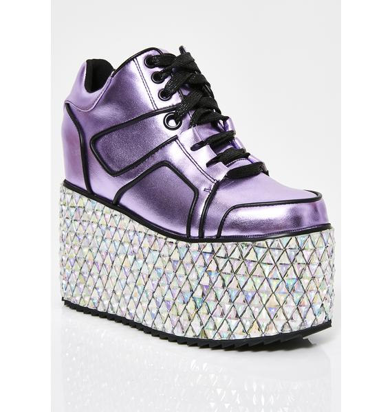 Club Exx Glamtronic Platform Sneakers