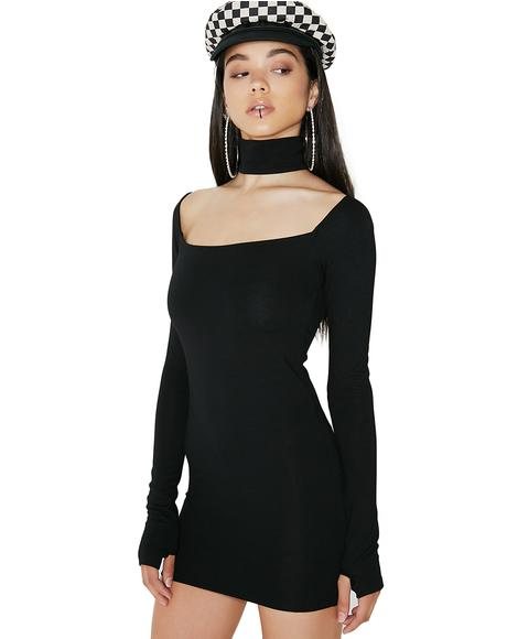 Can't Replace U Choker Dress