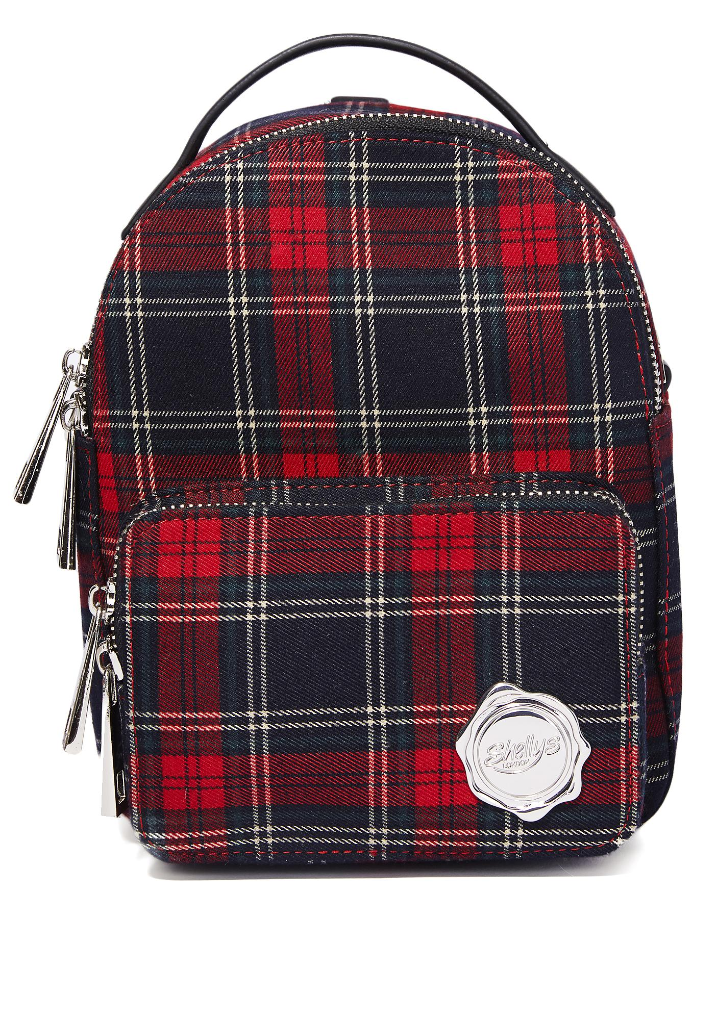 Shellys London Plaid Cooper Mini Backpack