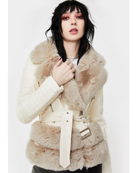 Destiny Faux Fur Jacket