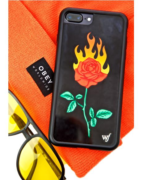 Burning Love iPhone Case