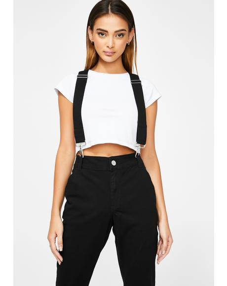 Relaxed Suspender Pants