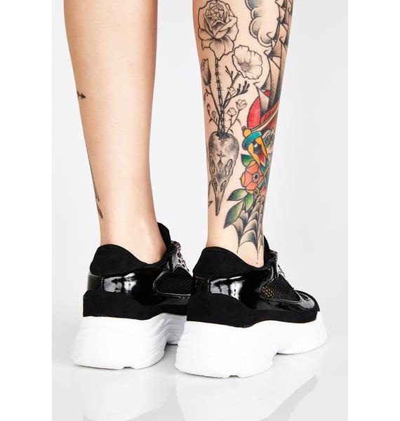 Trendsetting Mesh Sneakers