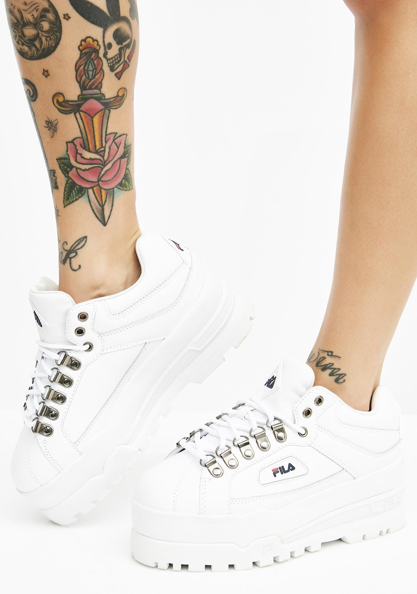 2922396eba55 Fila Icy Trailblazer Wedge Sneakers