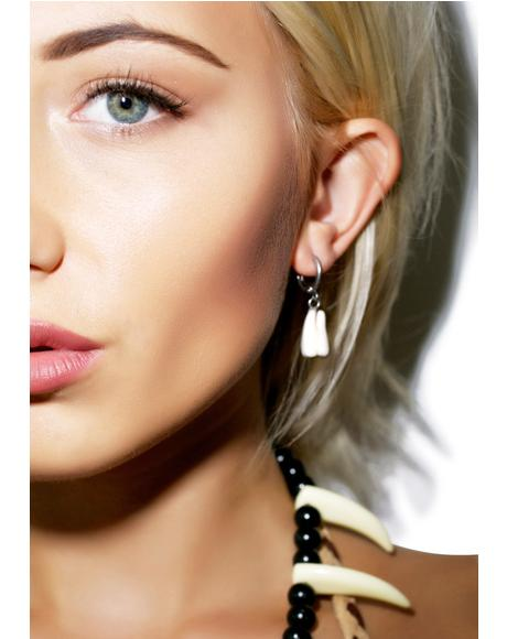 Tooth Earring