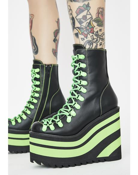 Neon Jawbreaker Traitor Boots