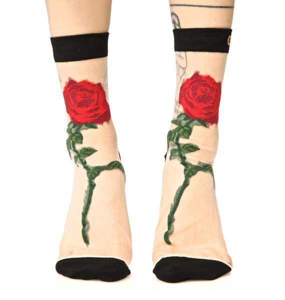 Stance The Rose Anklet Socks