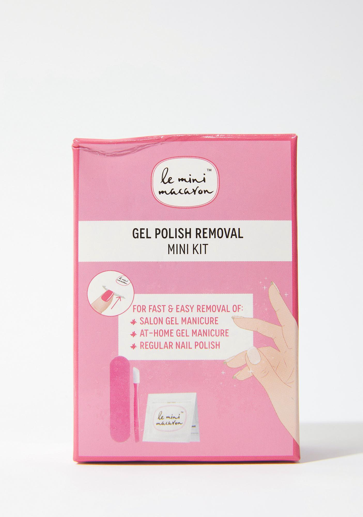 Le Mini Macaron Gel Polish Remover Mini Kit