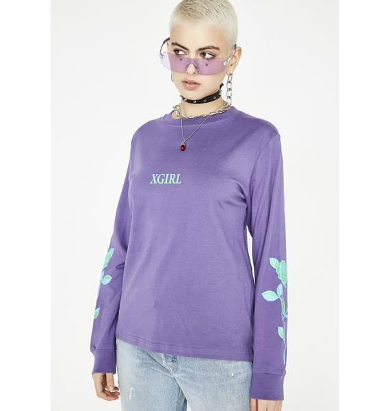 x-Girl Rose Long Sleeve Tee