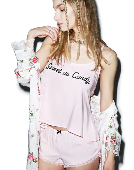 Sweet As Candy Cami Set