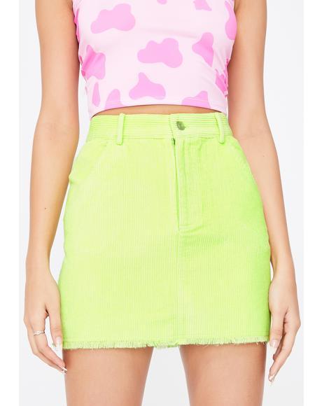Trending Starlet Corduroy Skirt