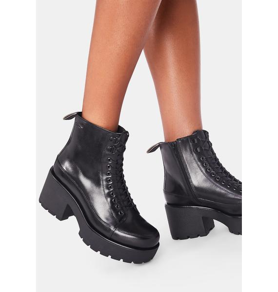VAGABOND SHOEMAKERS Dioon Platform Ankle Boots