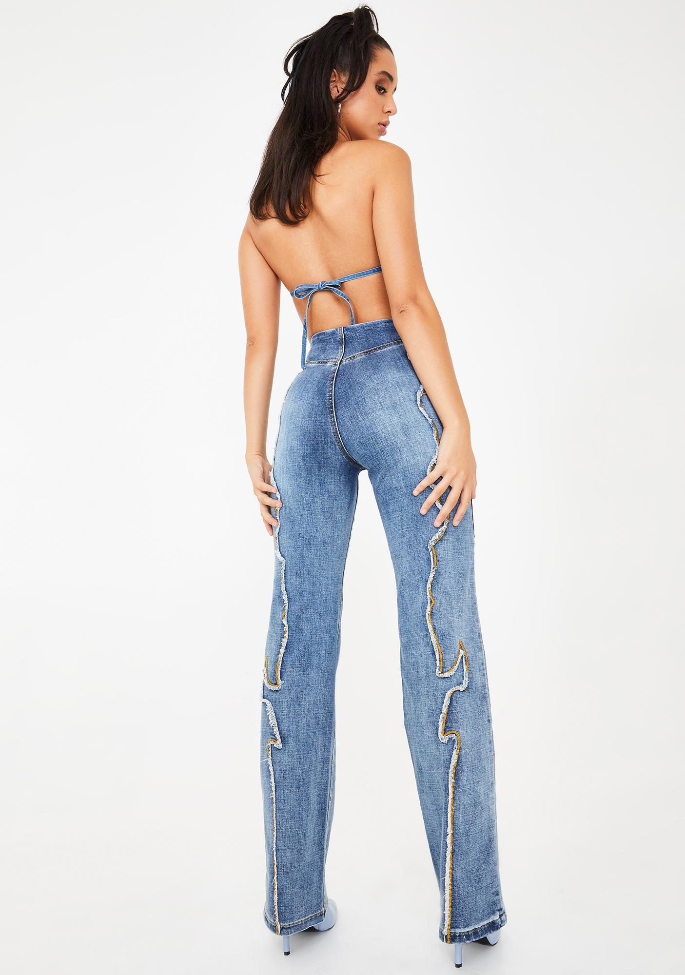 I AM GIA Kennedy Wide Leg Jeans