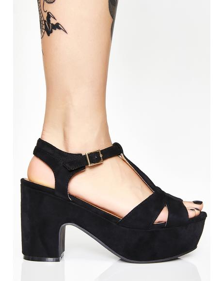 Funktastique Platform Sandals