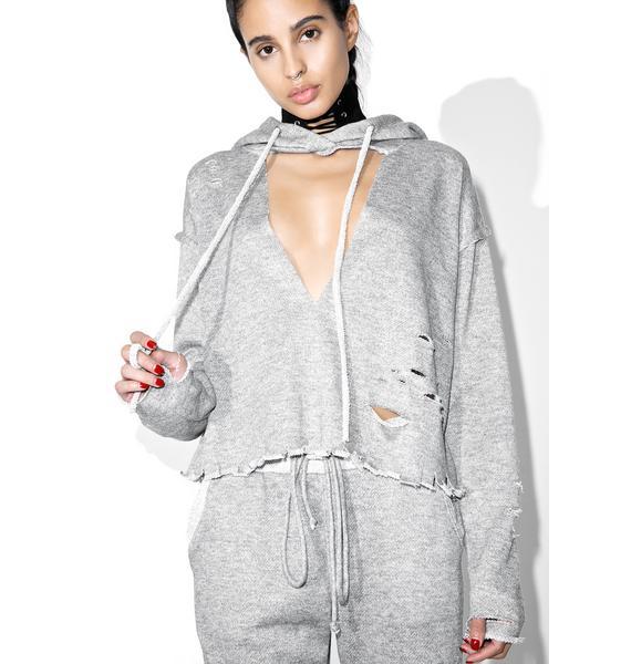 Ripped 2 Shredz Hooded Sweater