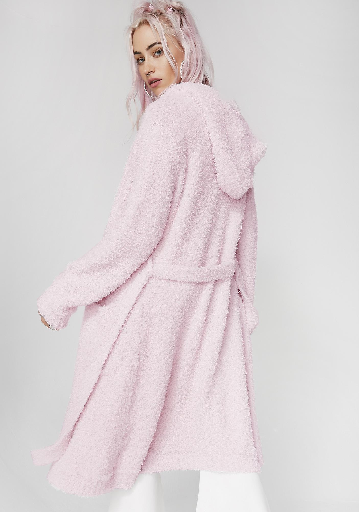 So Comfy Fuzzy Robe