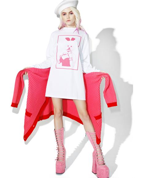 Dolly Dog Long Sleeve Tee