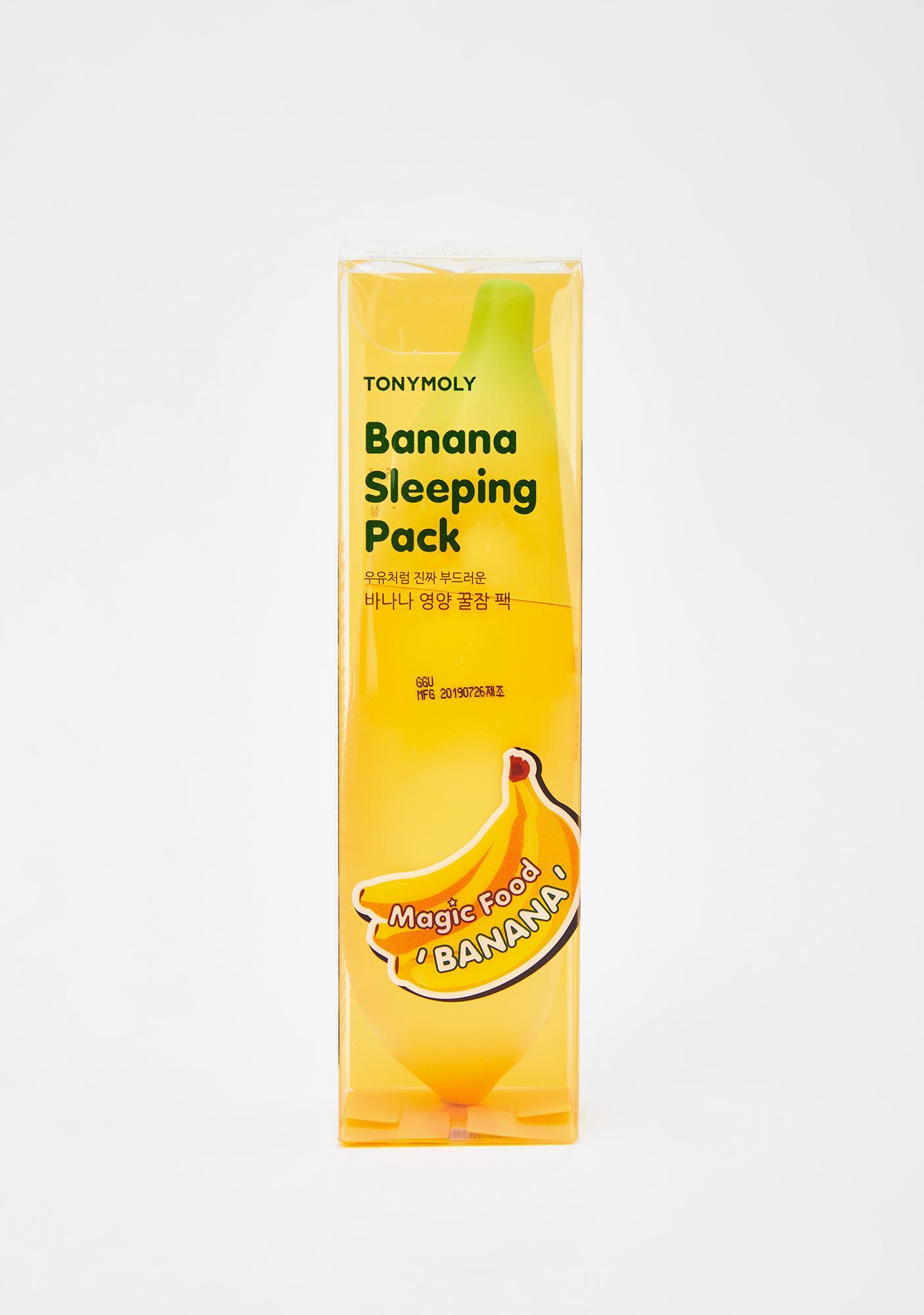 TONYMOLY Magic Food Banana Sleeping Mask