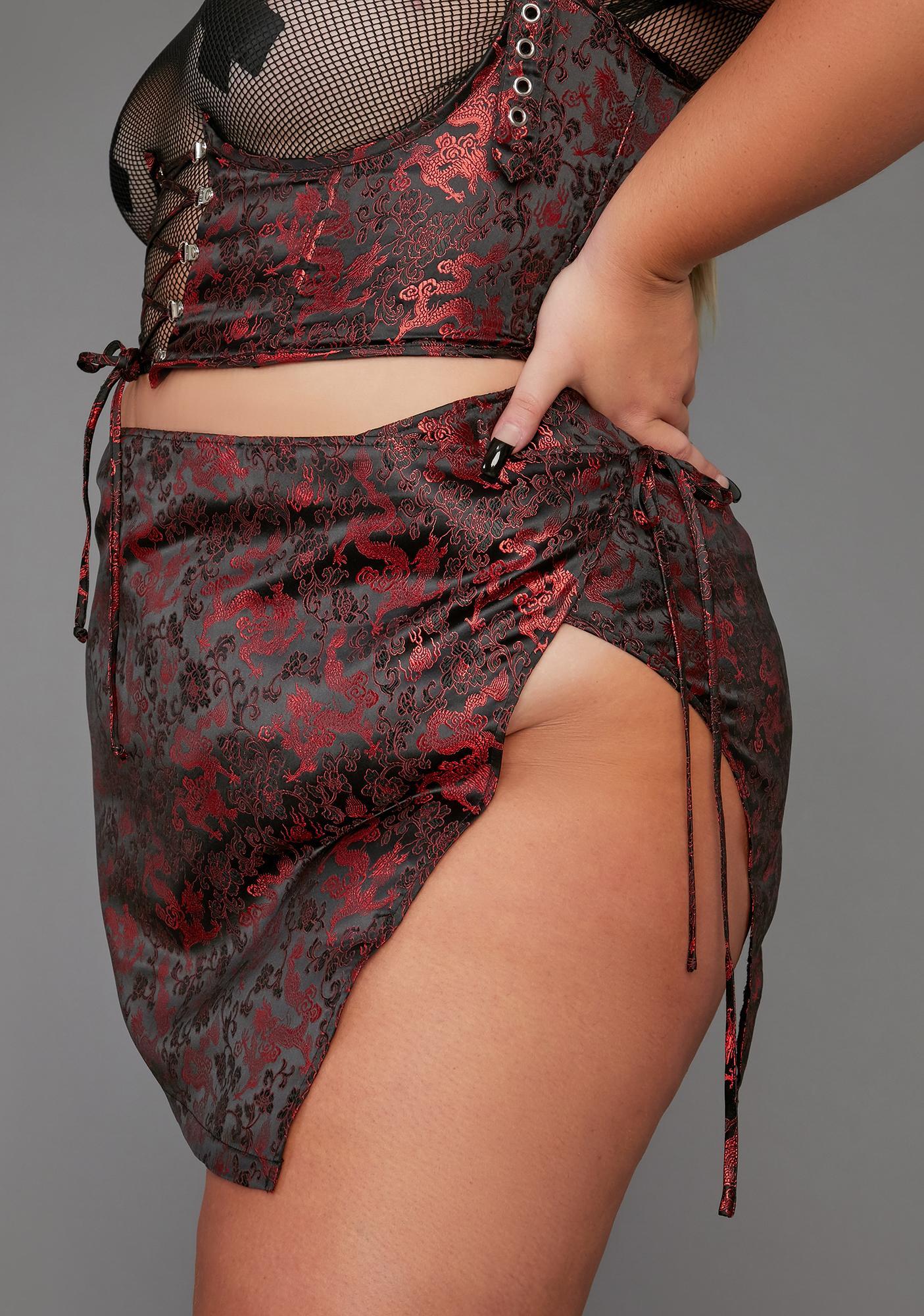 Poster Grl Infinite Clout Games Wrap Skirt