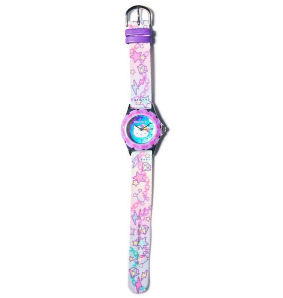 Sanrio Pastel Pop Hello Kitty Wrist Watch
