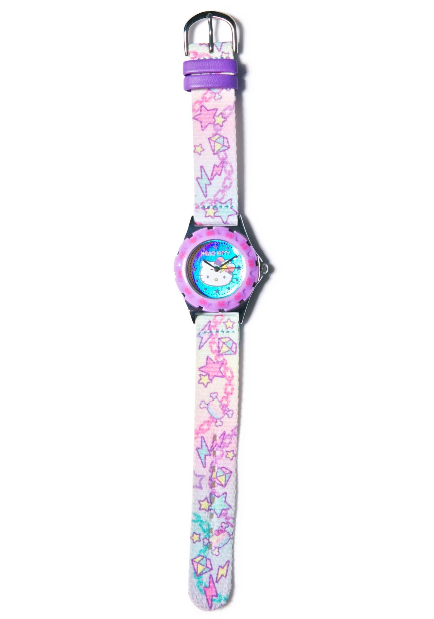 Sanrio Pastel Pop Hello Kitty Wrist Watch