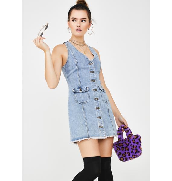 Dollz Night Out Denim Dress
