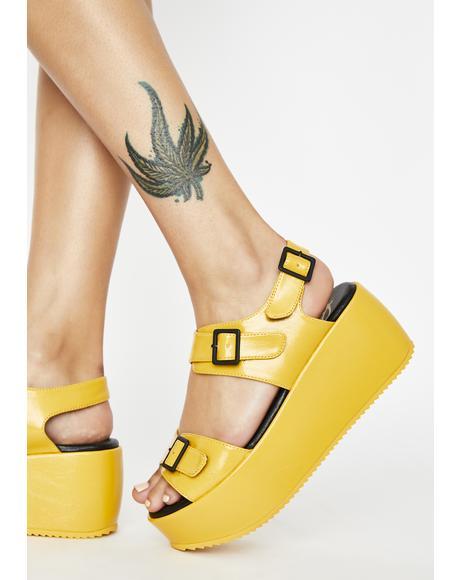 Soliel Lori Platform Sandals