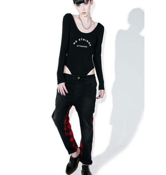 Dimepiece No Strings Attached Bodysuit