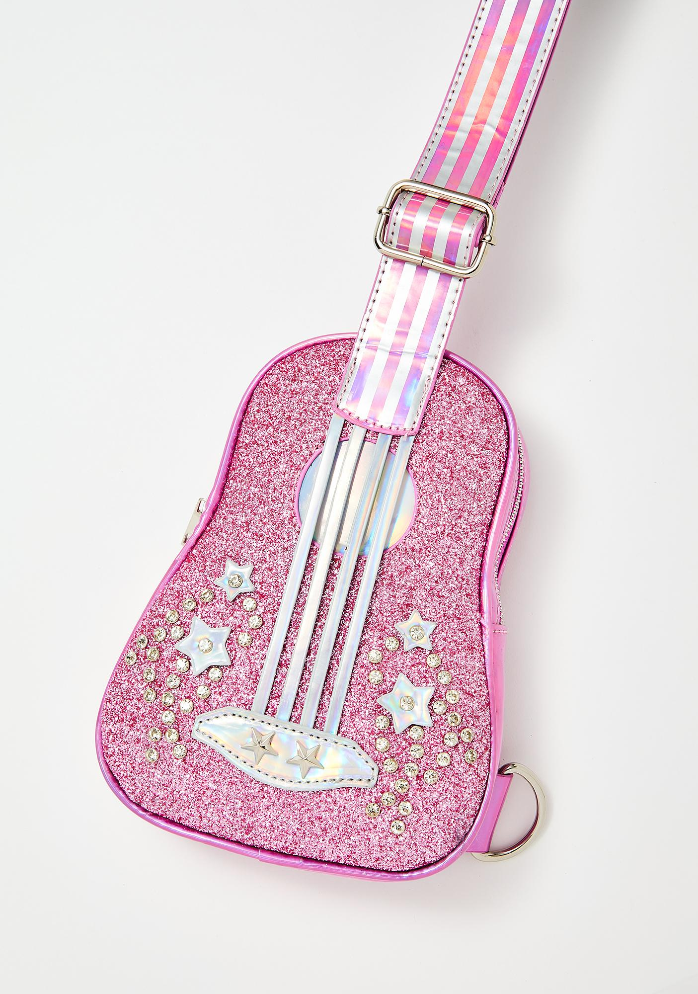 Club Exx Cosmic Heart Strings Ukulele Bag