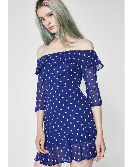 That'z My Boo Polka Dot Dress