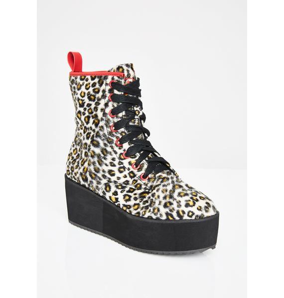 Strange Cvlt Stomp Hi Leopard
