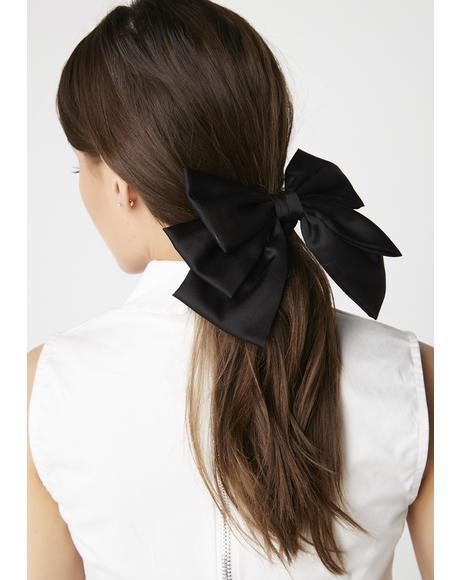 Overachiever Bow Scrunchie
