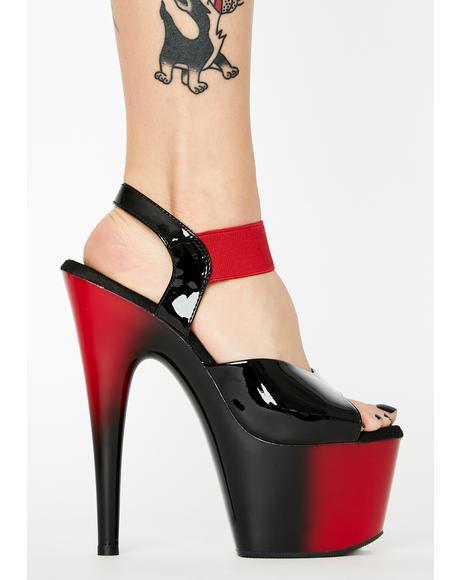 Verified Vamp Adore Platform Heels